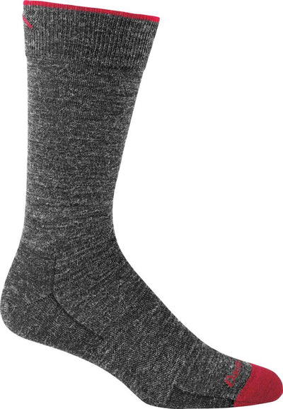 Darn Tough Solid Basic Light Crew Sock - Men's