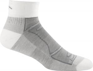 Darn Tough Run/Bike Light Cushion Quarter Sock - Men's