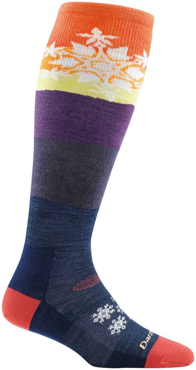Darn Tough Snowflake Over the Calf Cushion Sock - Women's