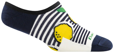 Darn Tough Topless Lemon Drop No Show Hidden Lightweight Sock - Women's