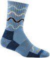 Darn Tough Wandering Stripe Micro Crew Light Cushion Sock - Women's