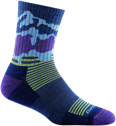 Darn Tough Three Peaks Jr. Micro Crew Light Cushion Socks