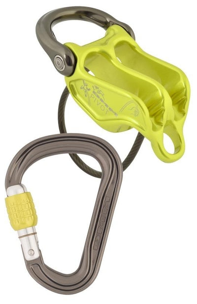 DMM Pivot Belay Device/Phantom HMS Carabiner Set