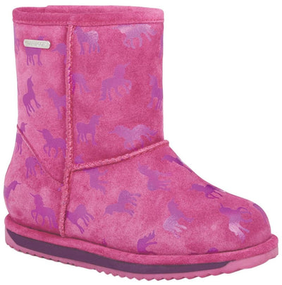 Emu Australia Rainbow Unicorn Brumby Boot - Kid's