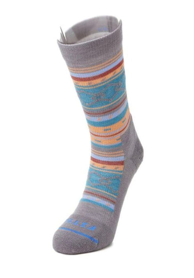 Fits Casual Aztec Crew Socks - Women's