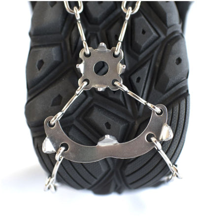 Hillsound FreeSteps6 - Ice Traction Device / Crampons, 21 Stainless Steel Spikes, 2 Year Warranty