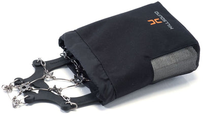Hillsound Spikeeper - Durable and Convenient Accessory Bag For Ice Traction Devices And Crampons - Black One Size