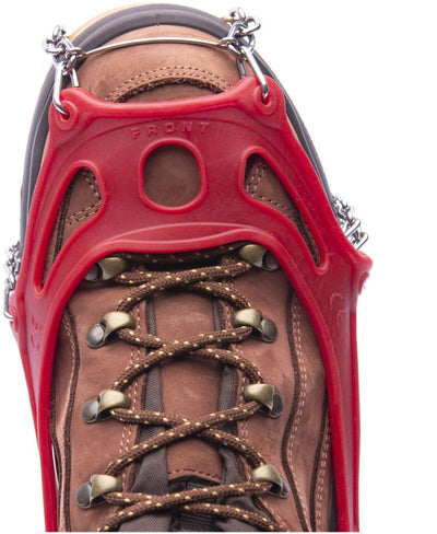 Hillsound Trail Crampons - Ice Traction Device / Crampons, 11 Carbon Steel Spikes, 2 Year Warranty