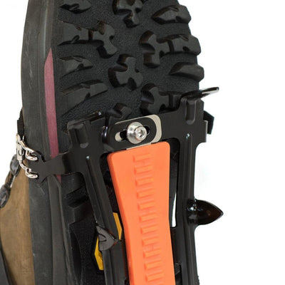 Hillsound Cypress6 - Ice Traction Device / Crampons, 6 Carbon Steel Spikes, 2 Year Warranty - Black One Size