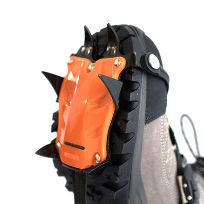 Hillsound Trail Crampon Pro - Ice Traction Device / Crampons, 10 Carbon Steel Spikes, 2 Year Warranty