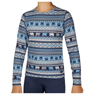 Hot Chillys Youth Originals II Print Crewneck - Kid's