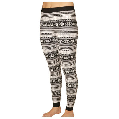 Hot Chillys Sweater Knit Print Legging - Women's