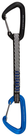 Metolius Bravo II Wiregate Quickdraw - Black/Blue 6""