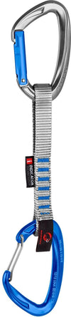 Mammut Crag Indicator Straight/Bent Express Set - Silver/Ultramarine 15cm