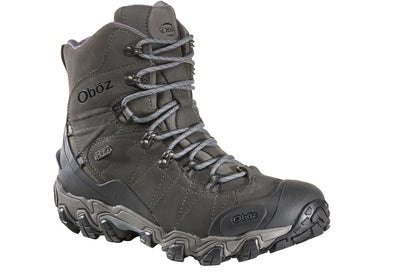 "Oboz Men's Bridger 8"" Insulated B-DRY Waterproof Hiking Boot"