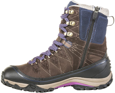 "Oboz Women's Juniper 8"" Insulated B-DRY Waterproof Hiking Boot"