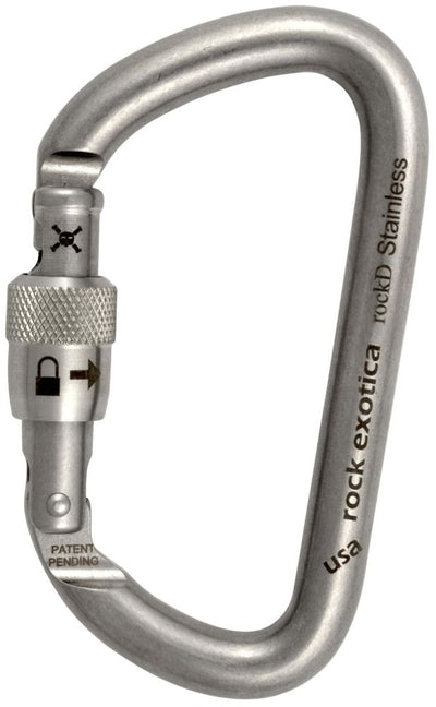 Rock Exotica rockD Locking Carabiner