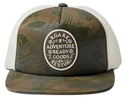 Roark Camo Arg Foam Front Trucker Hat - Men's Camo One Size