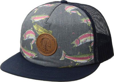 Roark Hobo Nickel Trucker Snapback - Men's Navy