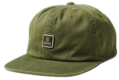 Roark Safecamp 6 panel Hat - Men's Military One Size