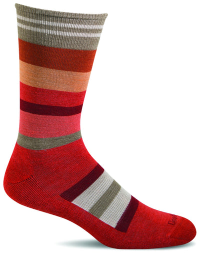 Sockwell Stand Up Stripe Light Cushion Sock - Men's