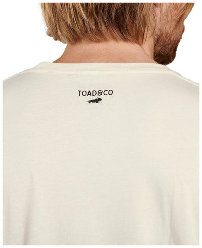 Toad&Co Save The Planet Go Nude Short Sleeve Tee - Men's