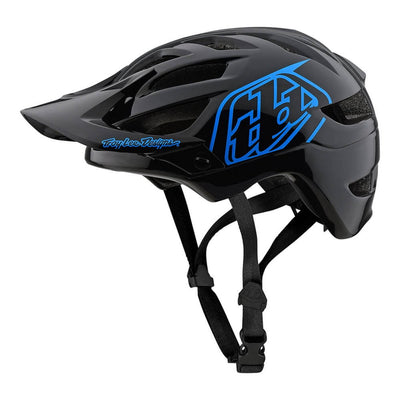 Troy Lee Designs A1 Drone Youth Helmet - Black/Blue