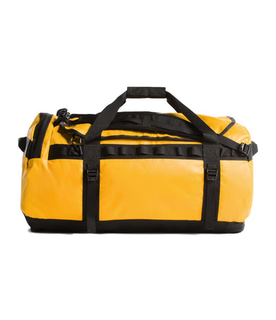 The North Face Base Camp Large Duffel Bag - Summit Gold/TNF Black