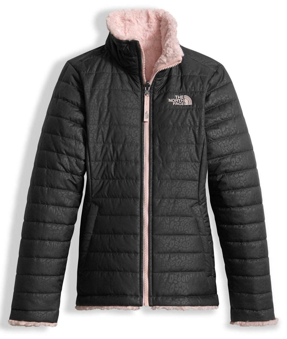 bbc0bc7ba The North Face Girls' Reversible Mossbud Swirl Jacket - Kid's