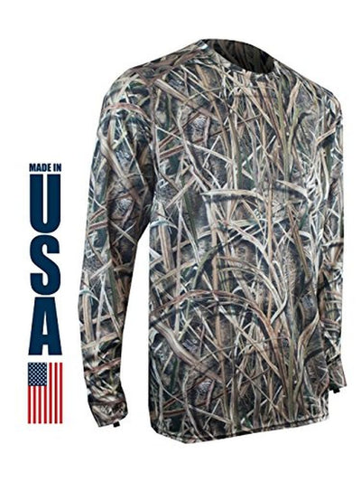 XGO Phase 1 Performance Camo Long Sleeve Crew