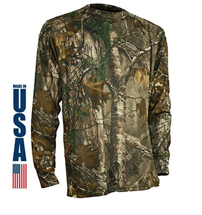 XGO Phase 4 Performance Camo Long Sleeve Crew