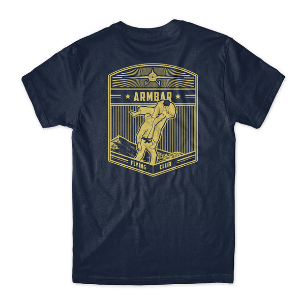 Choke Republic Armbar Flying Club Tee - Fighters Market