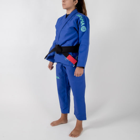 Left side facing Atama Leticia RIbeiro 2.0 Women's Gi
