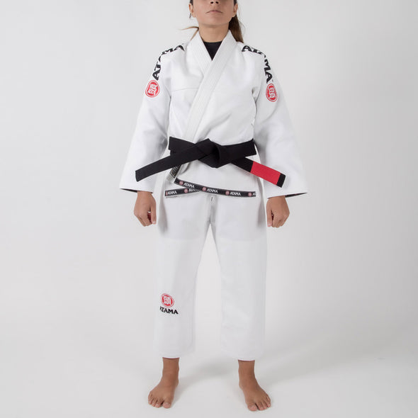 Atama Mundial Model 9 Women's Gi White Forward Facing