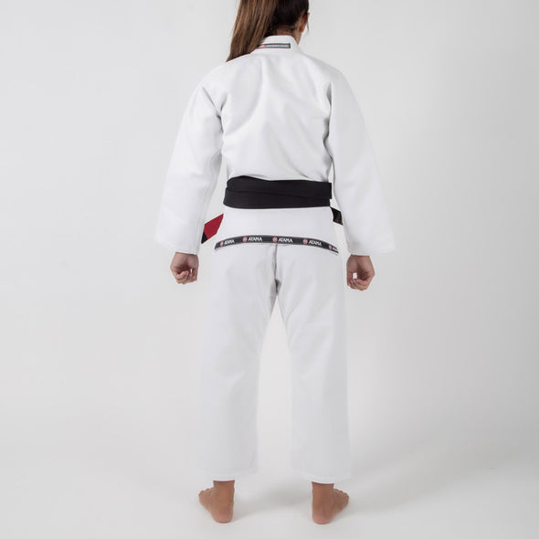 Atama Mundial Model 9 Women's Gi White Backwards Facing
