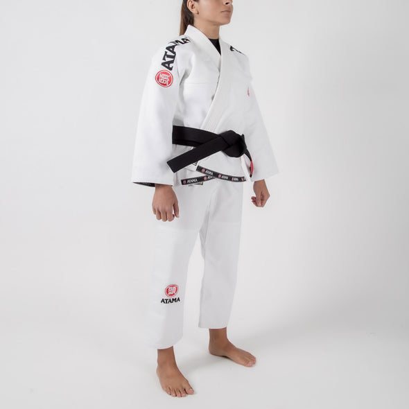 Atama Mundial Model 9 Women's Gi White Sideways Facing