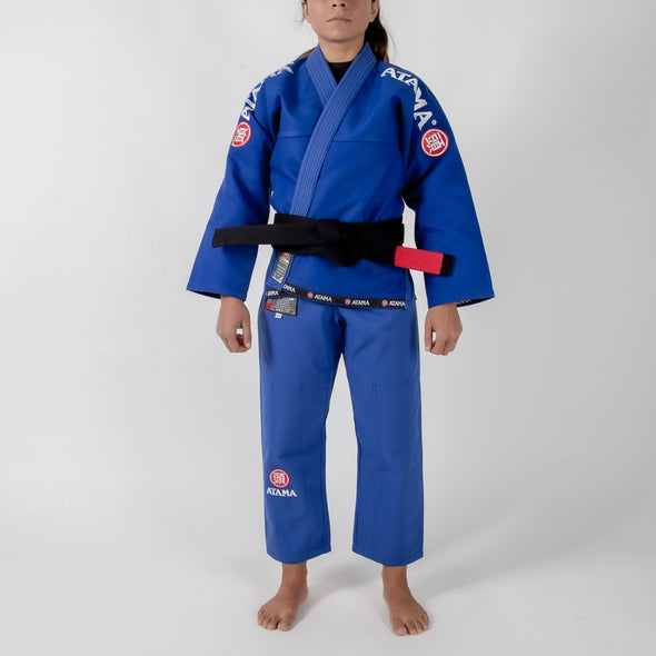 Atama Mundial Model 9 Women's Gi Blue Foward Facing