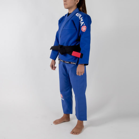 Atama Mundial Model 9 Women's Gi Blue Sideways Facing