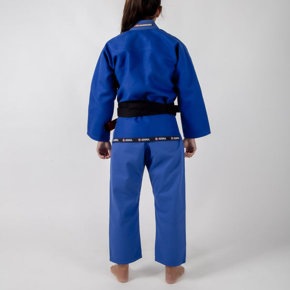 Atama Mundial Model 9 Women's Gi Blue Backwards Facing