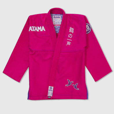 Atama Tsuru Women's Gi - Pink Limited Edition - Fighters Market
