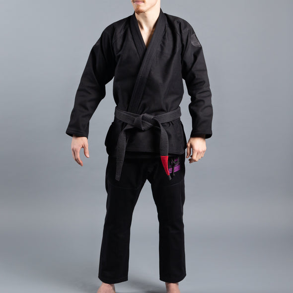 Scramble Athlete V4 550+ Jiu JItsu Gi - Midnight Edition - Fighters Market
