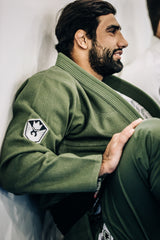 Kingz Balistico 2.0 Jiu Jitsu Gi - Military Green - Fighters Market