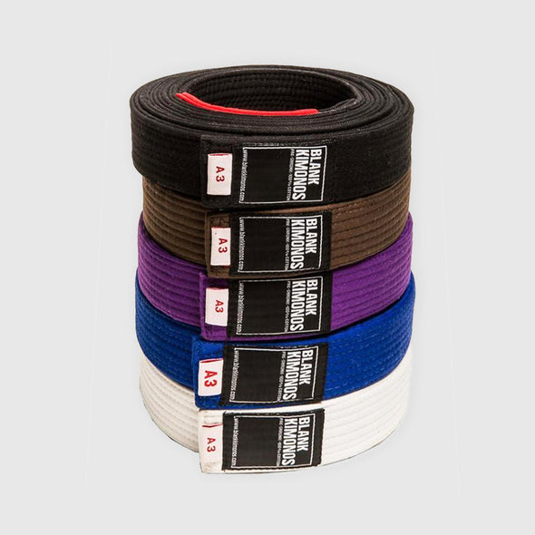 Blank Kimonos BJJ Belts - Fighters Market
