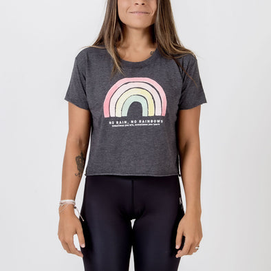 Choke Republic No Rainbows Women's Crop Tee - Fighters Market