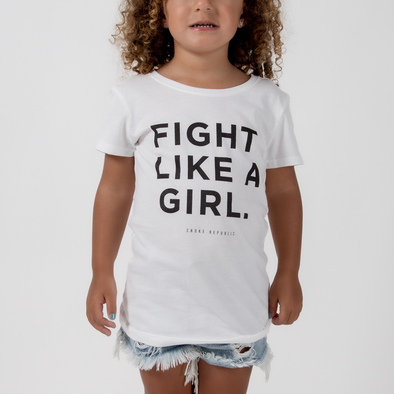 Choke Republic Fight Like A Girl Youth Tee - Fighters Market