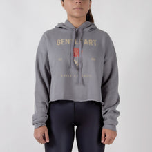 Choke Republic Gentle Art Women's Crop Hoodie