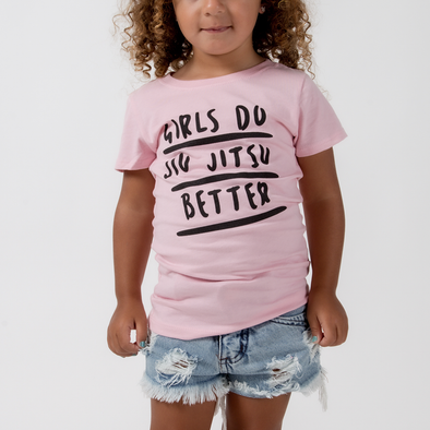 Choke Republic Girls Do Jiu Jitsu Better Youth Tee - Fighters Market