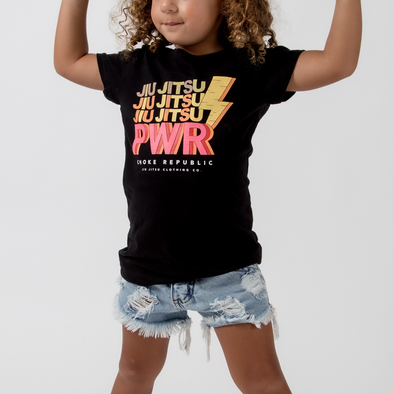 Choke Republic Jiu Jitsu Power Youth Tee - Fighters Market