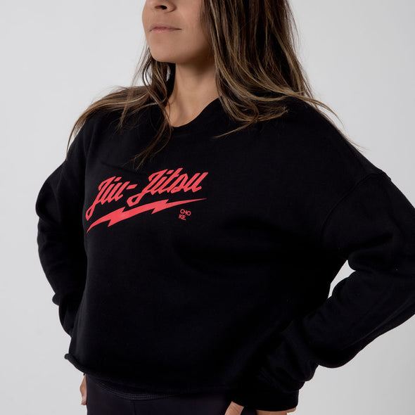 Choke Republic Milwaukee Women's Crop Hoodie - Fighters Market