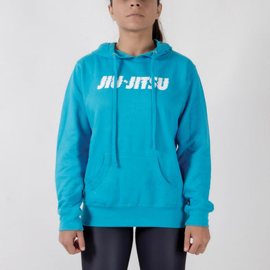 Choke Republic Electric Women's Hoodie Blue